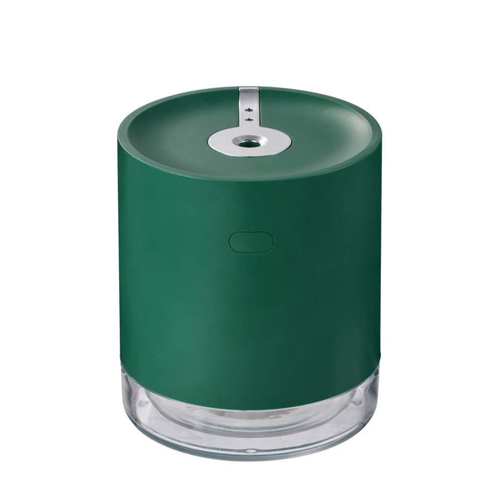 Induction Sprayer Air Humidifier Portable USB Charging Contact Free Mist Maker green