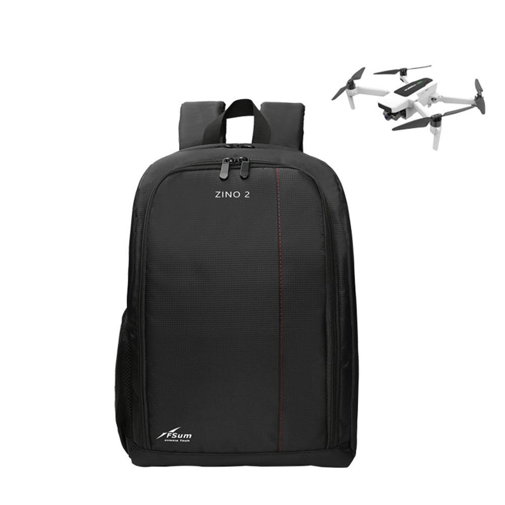 Portable Travel Shoulder Bag Carrying Bag Protective Storage Case for Hubsan Zino2 black
