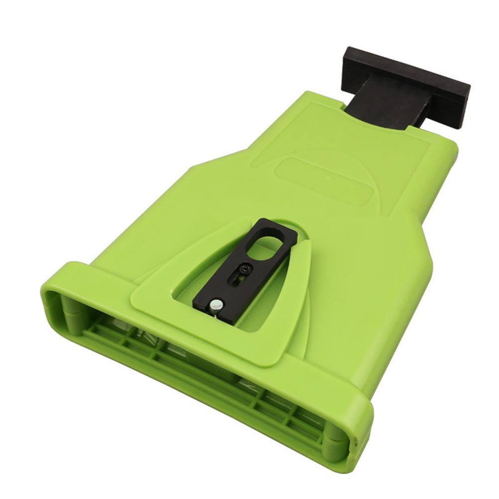 Chainsaw Teeth Sharpener Sharpens Chainsaw Saw Chain Sharpening System 14-20 Inches green