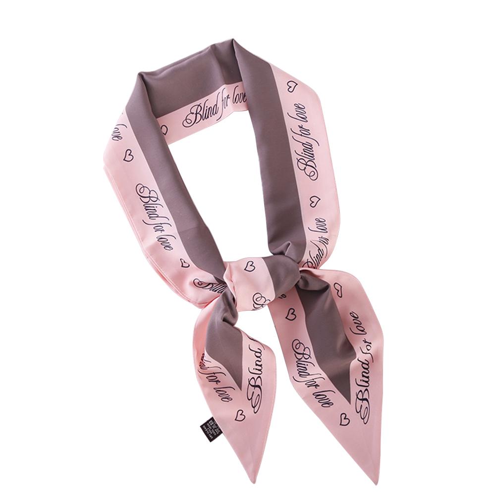 Stylish Narrow Neckerchief Pretty Scarf Ornament Festival Gift