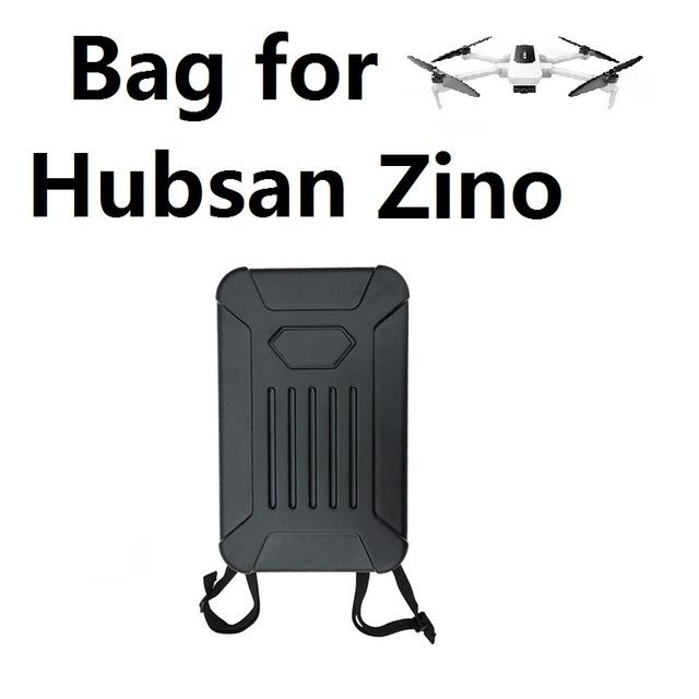 Zino Shoulder Bag Hard Shell Backpack Storage Bag for Hubsan X4 Zino H117S as shown