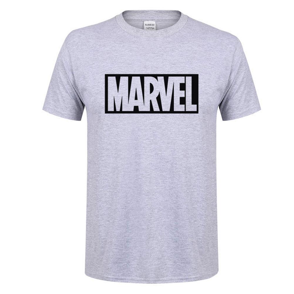 Summer Men Cotton Short-sleeve T-Shirt Stylish Loose Tops Birthday Festival Gift