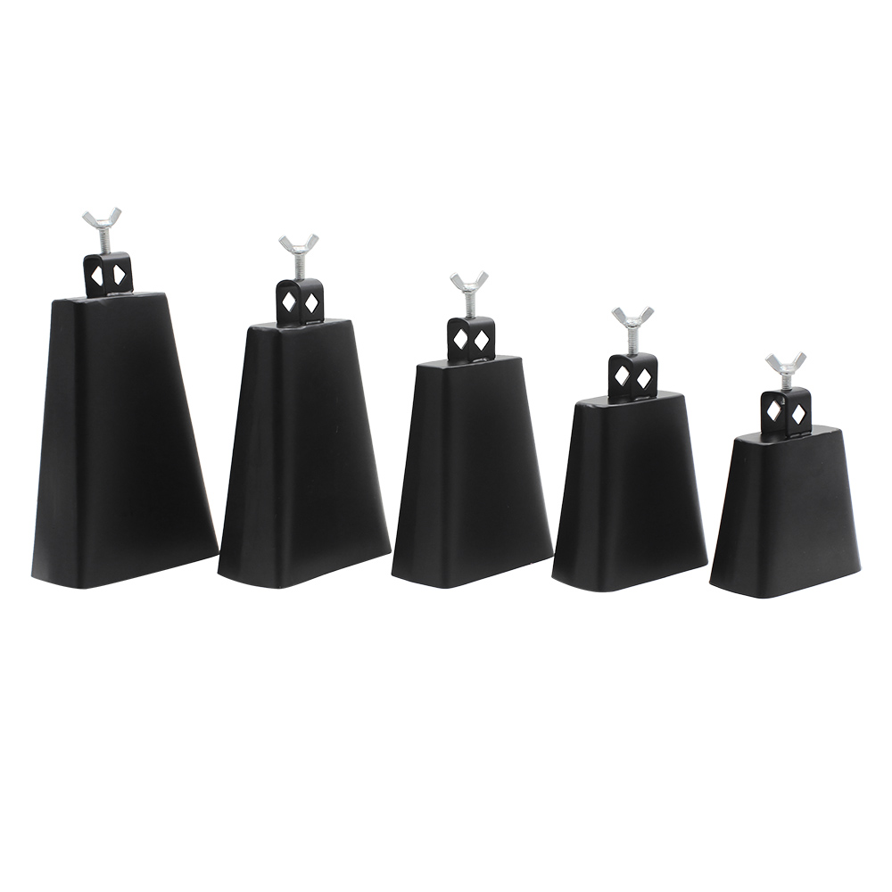 4/5/6/7/8 Inch Metal Steel Cattlebell Cowbell Personalized Cow Bell Percussion Instruments 4 inch
