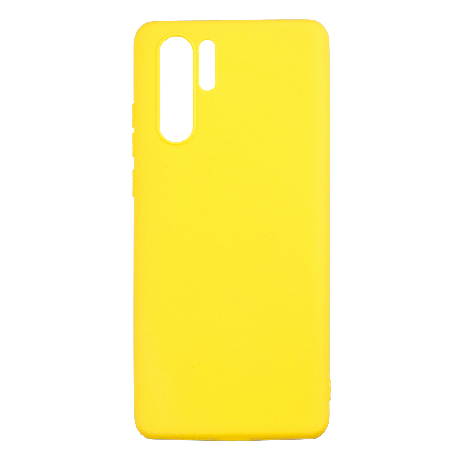 HUAWEI P30 pro Lovely Candy Color Matte TPU Anti-scratch Non-slip Protective Cover Back Case yellow