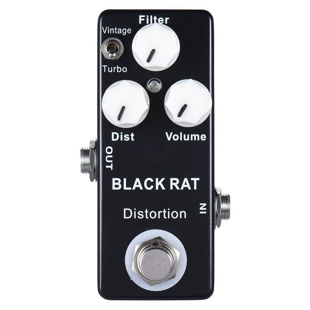 Mosky RAT Distortion Mini Guitar Effect Pedal black