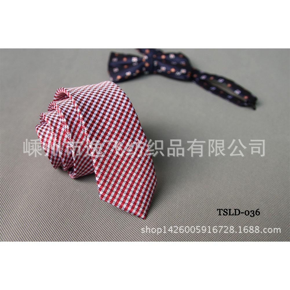 5cm Skinny Tie Classic Silk Solid Dot Narrow Slim Necktie Accessories Wedding Banquet Host Photo TSLD-036
