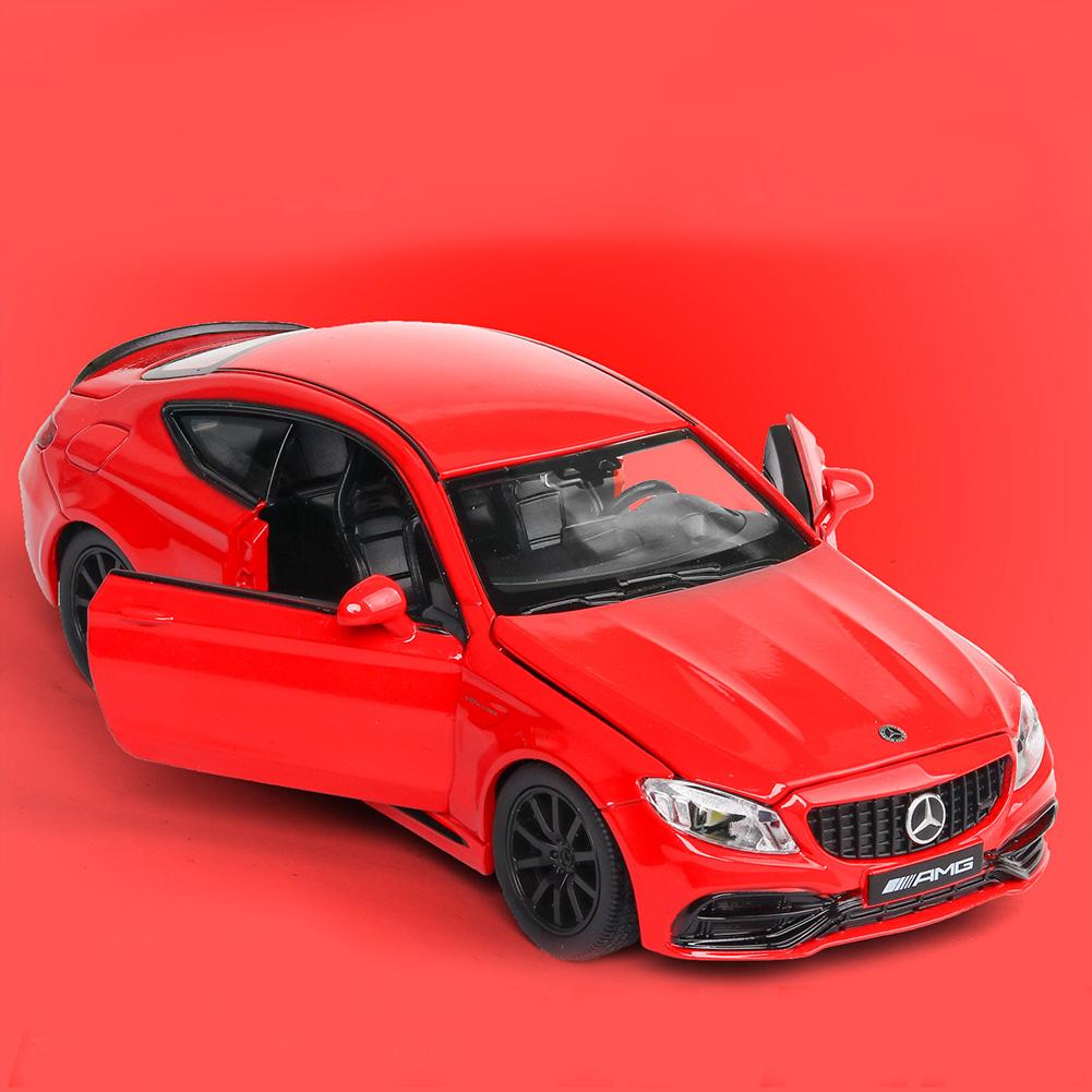 1:32 Alloy Car Model Vehicle Model Simulation Family Car Model Car Ornaments red