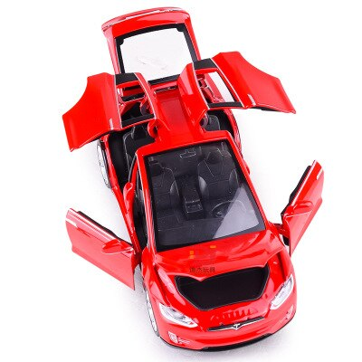 Simulation Alloy Car Children Sound and Light Pull Back Car