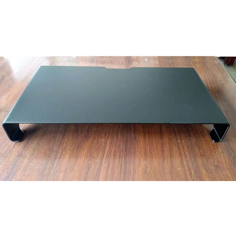 Portable Computer Stand Aluminum Laptop Stand Desk Dock Holder Bracket for Apple iMac/Tablet/ MacBook Pro/PC/Notebook Base  Black large size 490*215*50MM