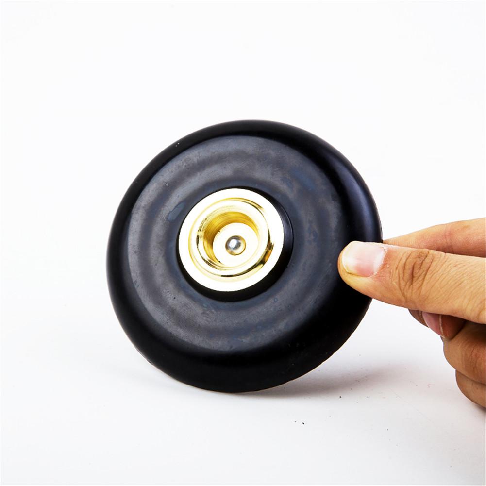 Imitation Carbon Fiber Cello End Pin Non-slip Mat Metal Eye Cello Instrument Accessories black