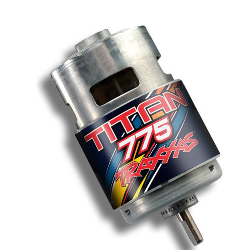 Traxxas 5675 Titan 775 Motor 10-Turn 10T 16.8 Volts For Summit 1/10 Scale 4WD Electric Extreme Terrain Truck Spare Parts default