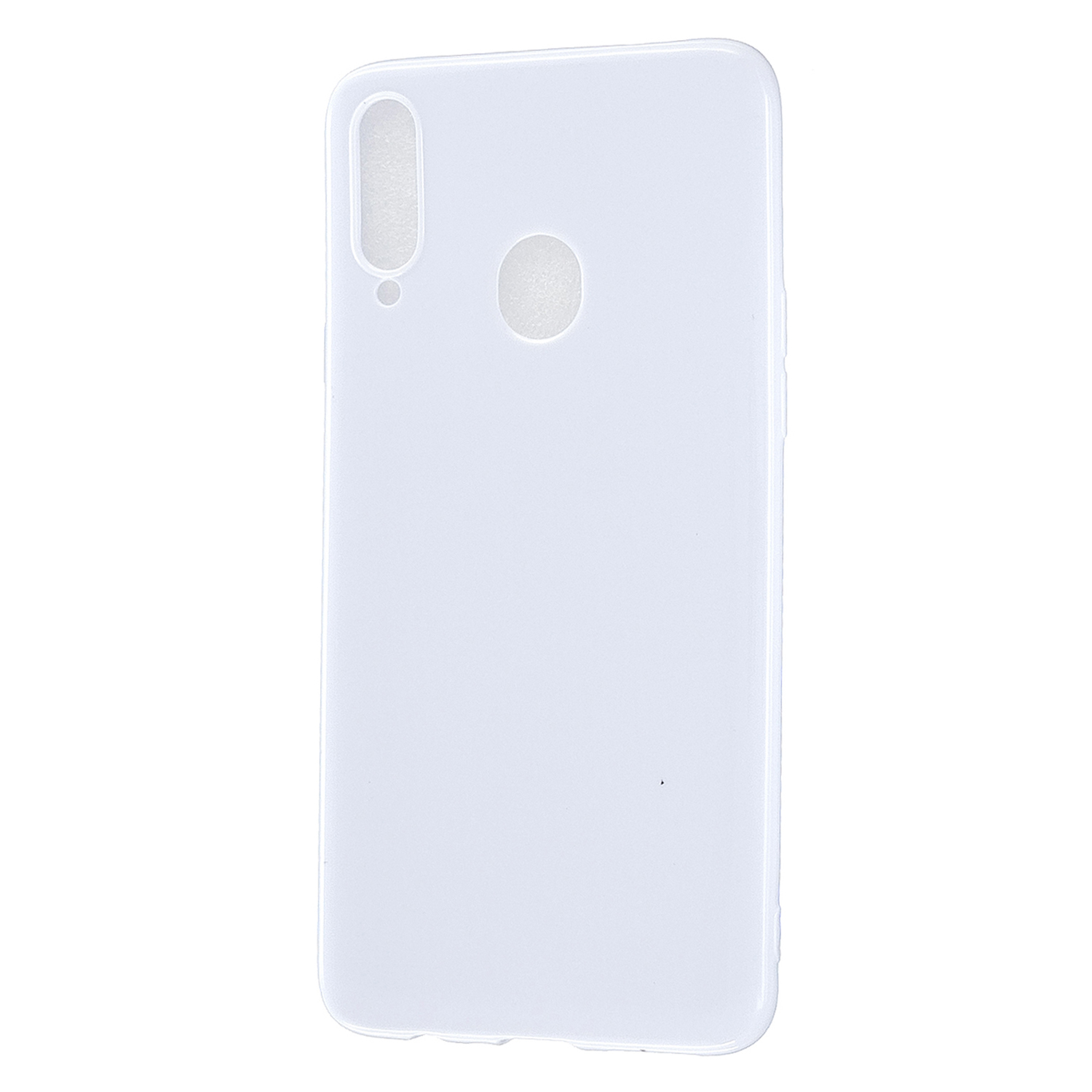For Samsung A10S/A20S Cellphone Cover Soft TPU Phone Case Simple Profile Full Body Protection Anti-scratch Shell Milk white
