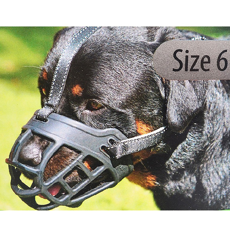 Creative Silicon Dog Mouth Muffle Mouth Cover Pet Supplies 1