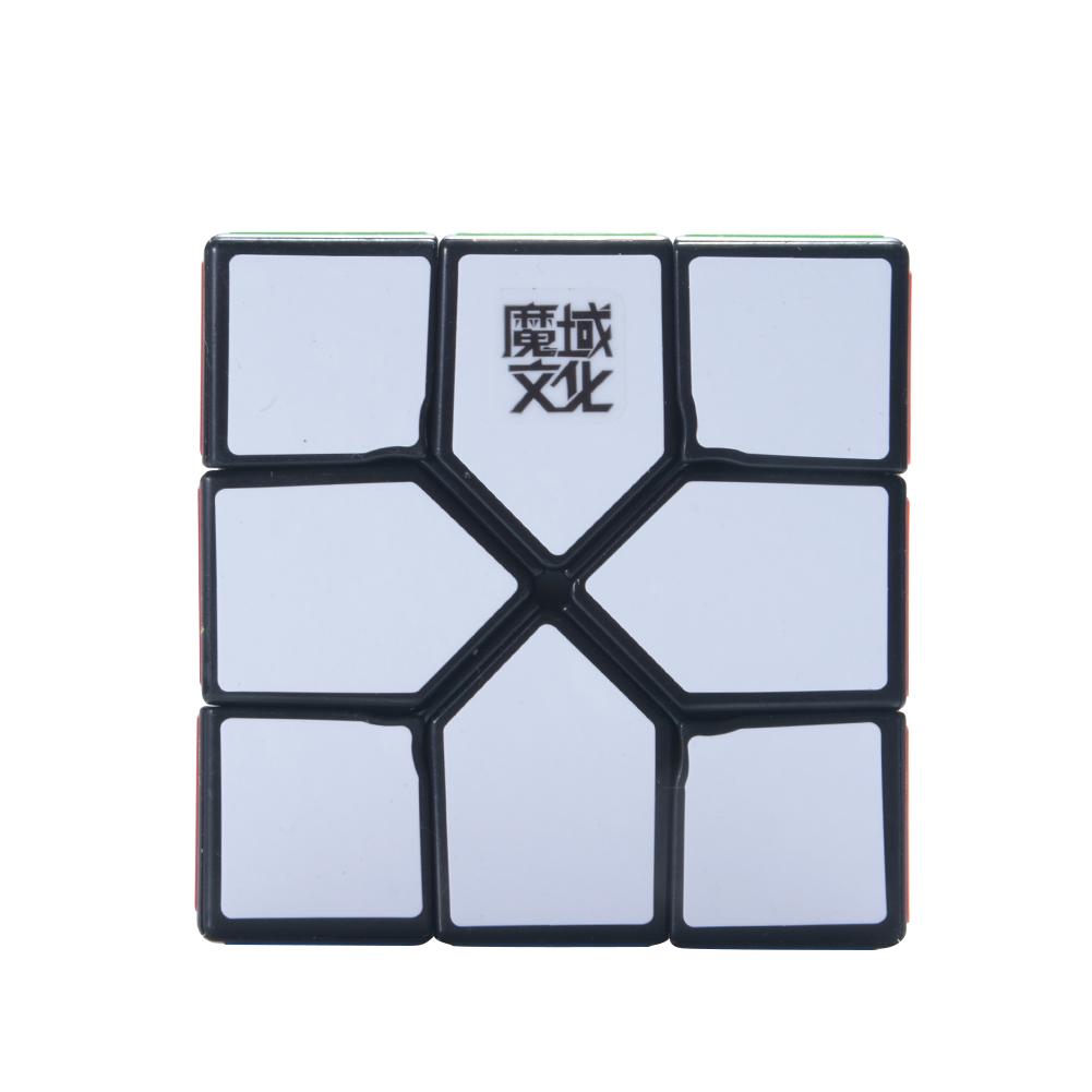 [EU Direct] 3x3x3 Magic Cube Creative Skewb Cube Brain Teaser Puzzle Cube for Magic Cuber Professional Players Lovers black