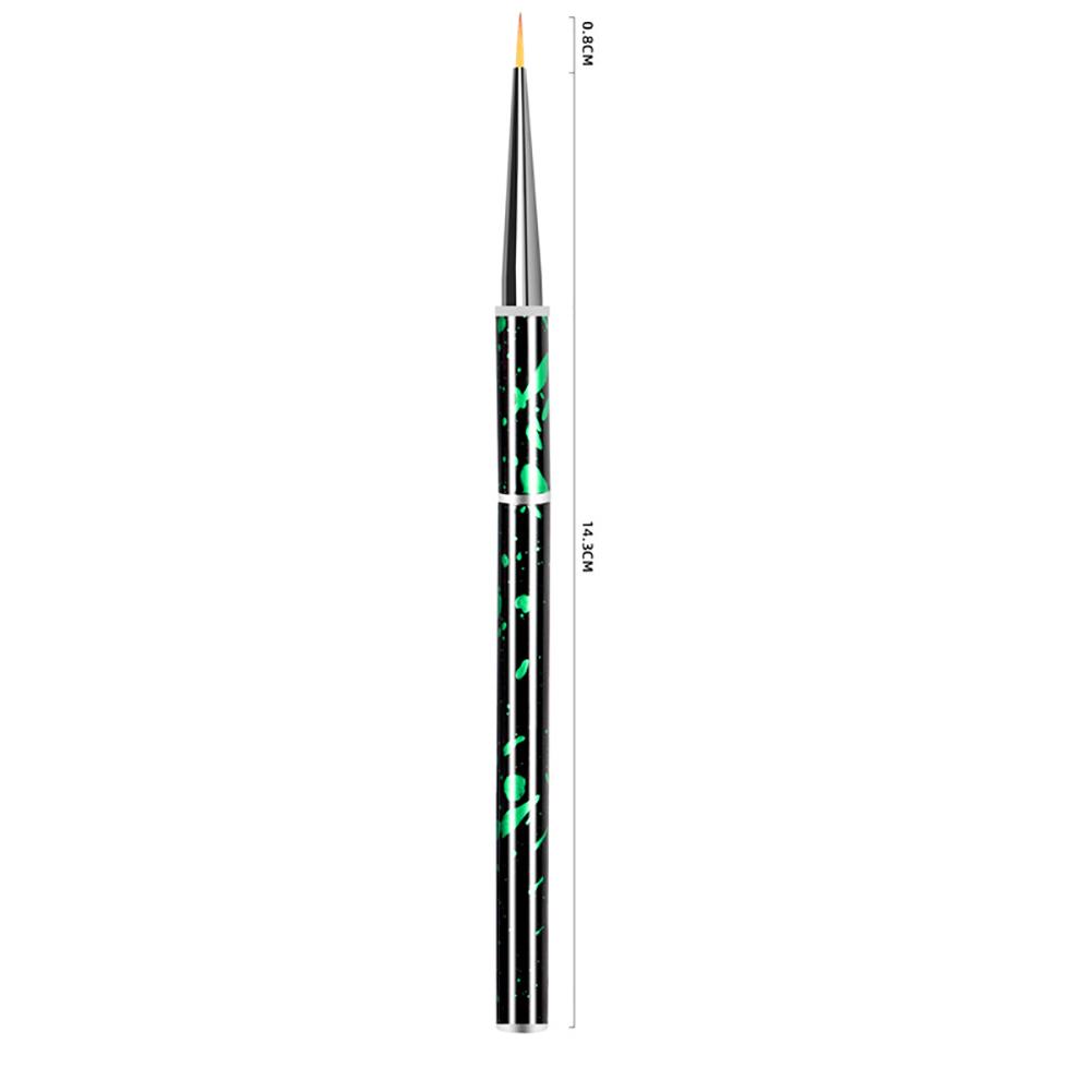 Nail painting brush Graffiti penholder UV gel Nail painting Crystal pen Green drawing pen