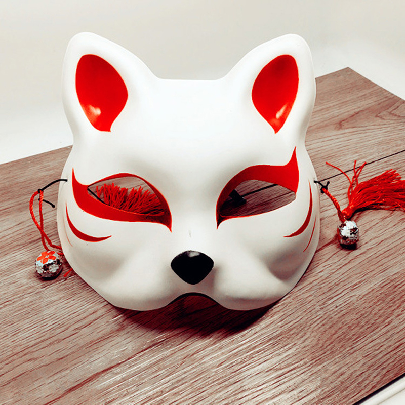 Japanese Fox Half Mask