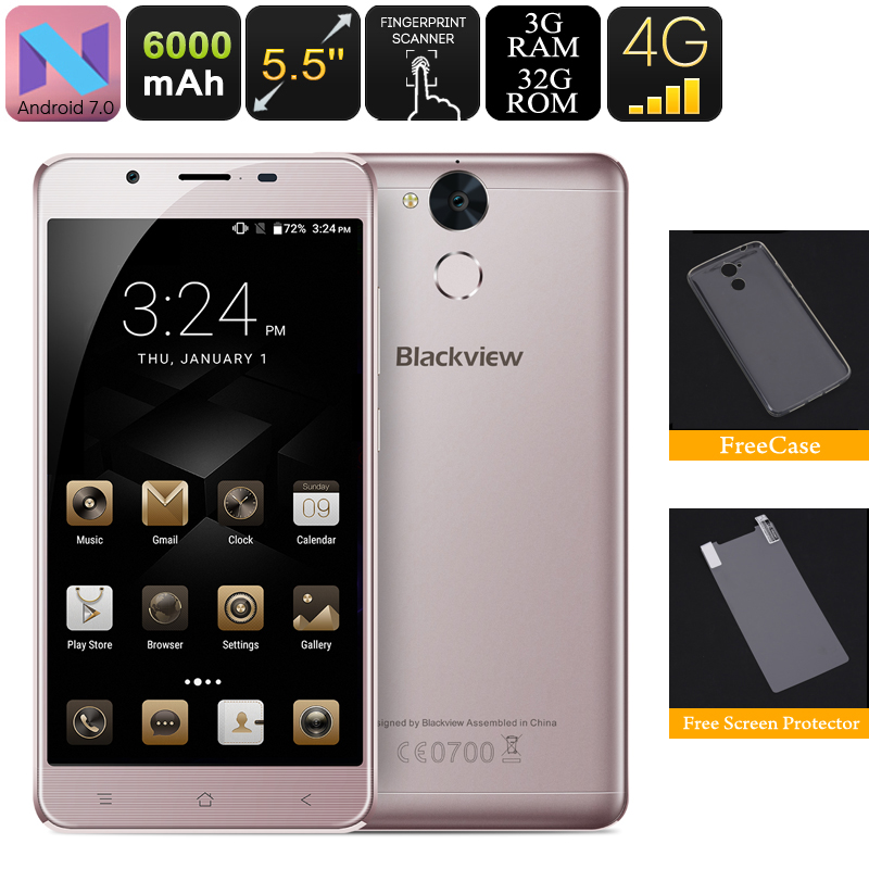 Blackview P2 Lite Android Phone (Grey)
