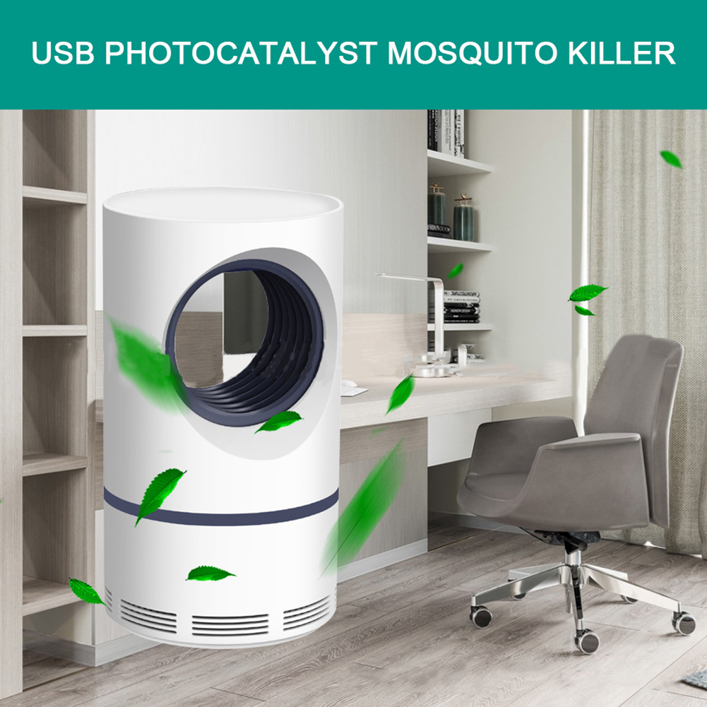 Anti-mosquito Insect Lamp Uv Photocatalytic Mosquito Trap Quiet Radiationless Mosquito Lamp For Household Mosquito Killer Lamp