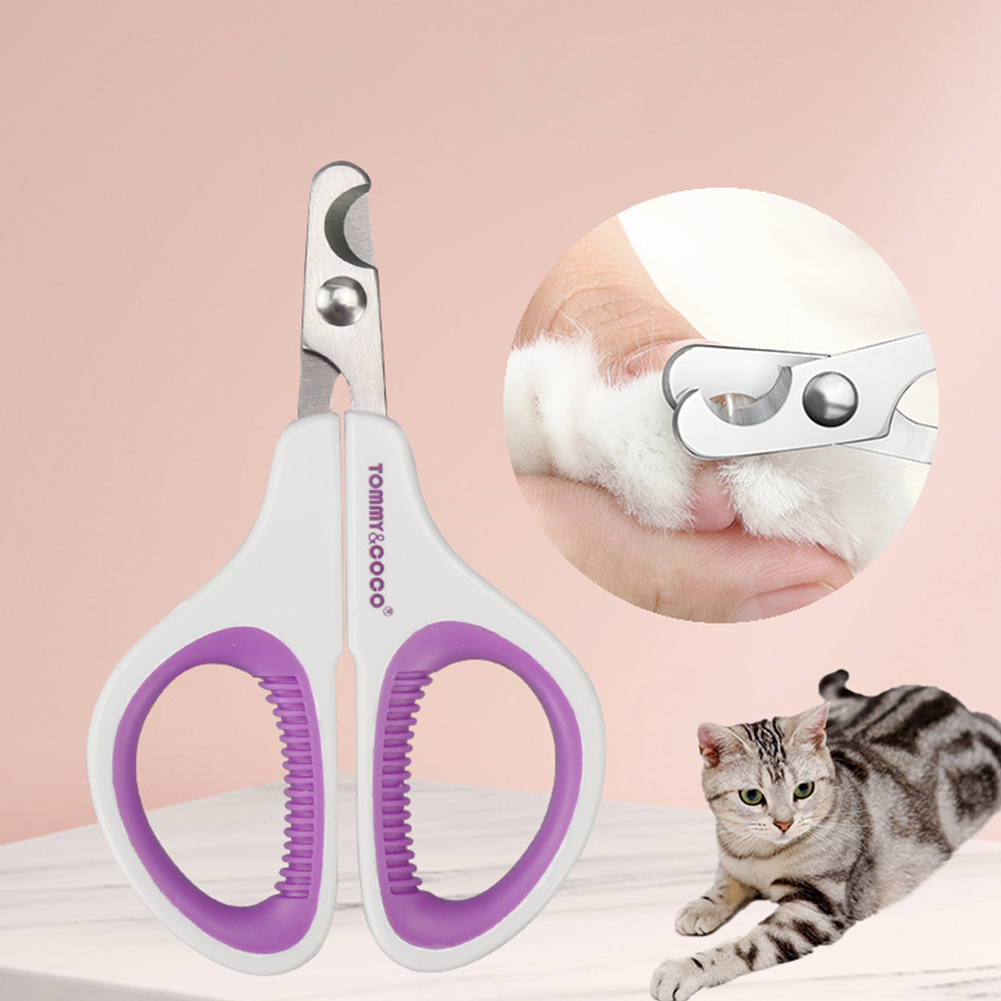 Pet Toe Nail Clippers Stainless Steel Nail Scissors for Pet Dogs Cats Grooming Cleaning Tool 10*6cm