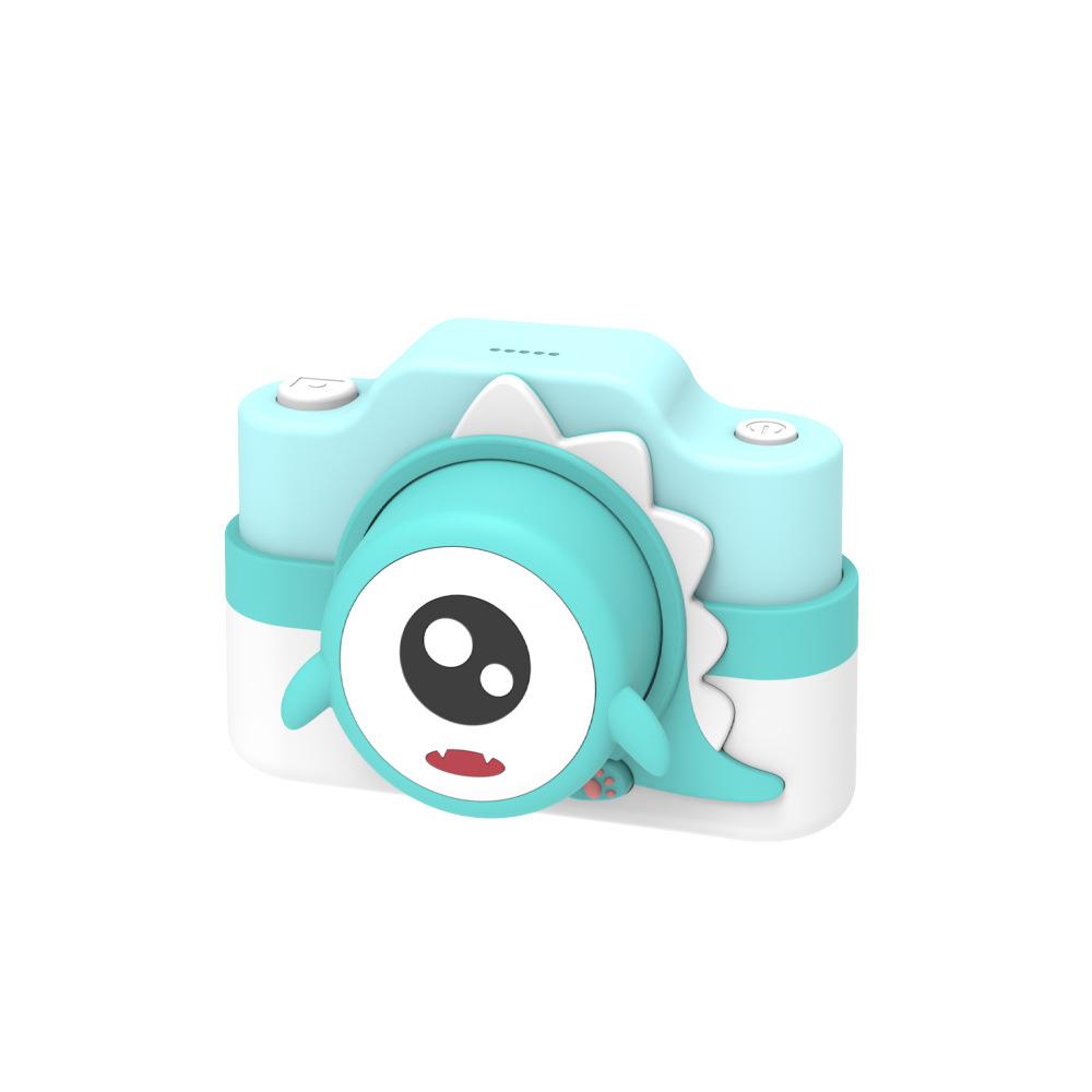 Children Mini Wifi Cartoon Camera Kids Educational Toys for Children Baby Birthday Gift  green