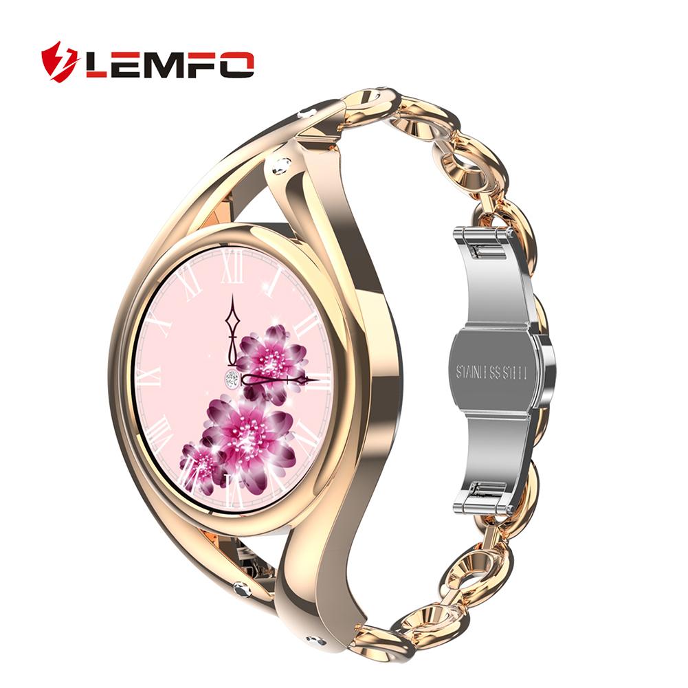 Smart  Watch Bluetooth-compatible 5.0 Heart Rate Monitor Ip68 Waterproof Smartwatch Gold