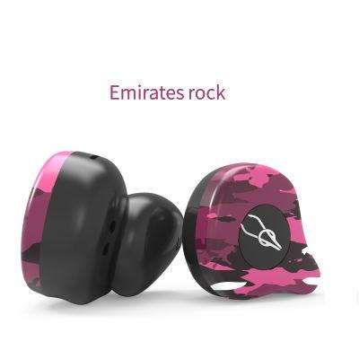 Sabbat X12 Ultra Camouflage TWS True Wireless 5.0 Bluetooth Headset In-Ear Stereo Earbuds Headset Emirates rock