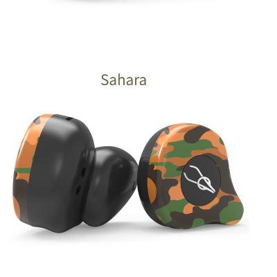 Sabbat X12 Ultra Camouflage TWS True Wireless 5.0 Bluetooth Headset In-Ear Stereo Earbuds Headset Sahara