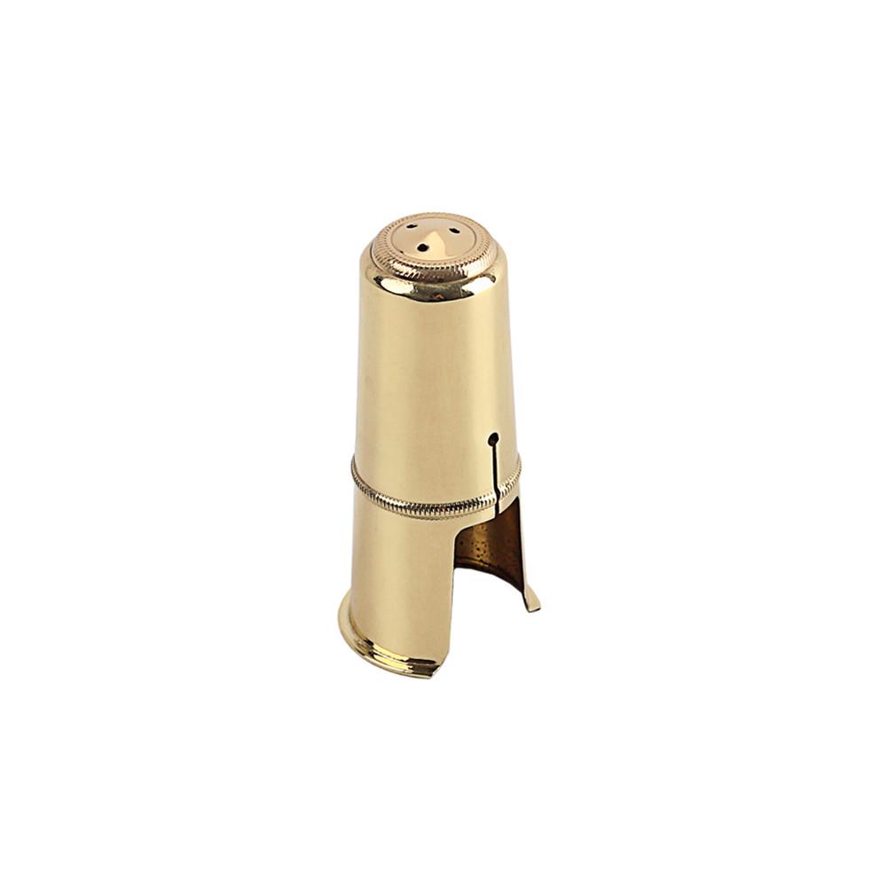 Tenor Saxophone Cap Flute Head Metal Protective Cap Hat Brass Hat 84mm Copper Protective Cap Golden