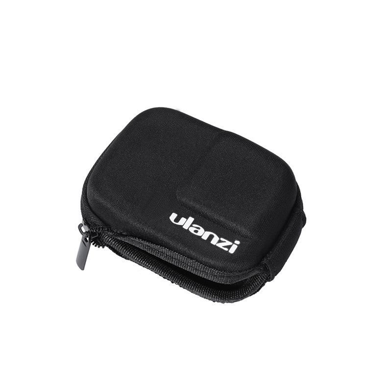 Portable Storage Bag Mini Travel Case for Gopro Hero Black 8 Camera All-round Protective Frame black