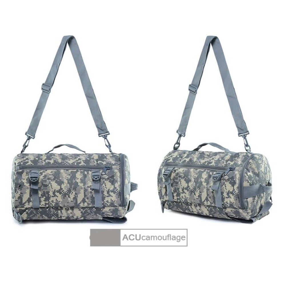 Crossbody Single-shoulder Portable Backpack Outdoor Travel Camouflage Sports Bag Mountaineering Camouflage Backpack