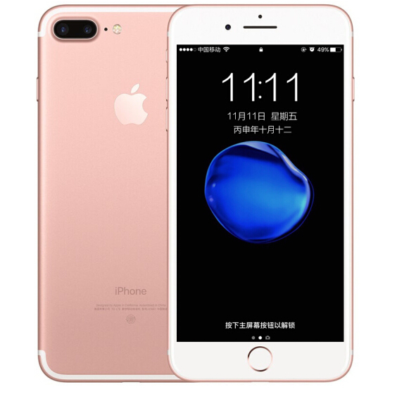 Refurbished iPhone 7 Plus 3+128 Rose Gold UK
