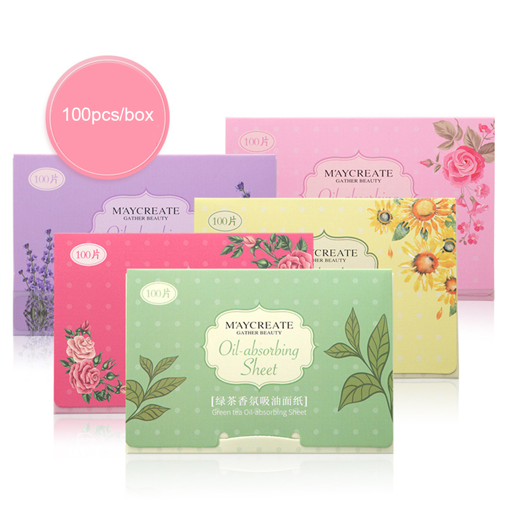 100 Pcs/box Face Oil Absorbing Paper