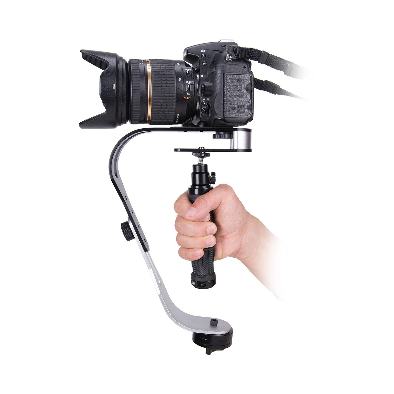 Handheld Camera Stabilizer Video Steadicam Gimbal for DSLR Gopro Smartphone black