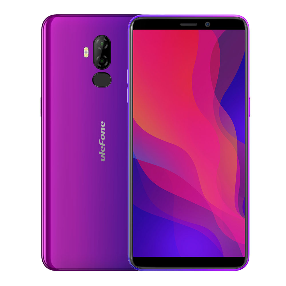 Ulefone Power 3L 2+16GB 4G phone RU-Purple
