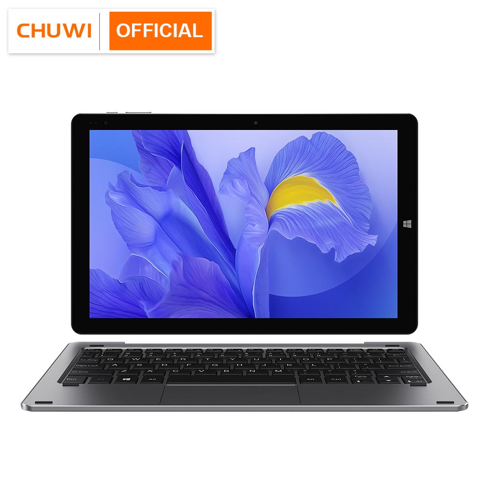 CHUWI Hi10 X 10.1 inch FHD Screen Intel N4100 Quad Core 6GB RAM 128GB ROM Windows Tablets Dual Band 2.4G/5G Wifi BT5.0 black_Tablet + Pen + Keyboard