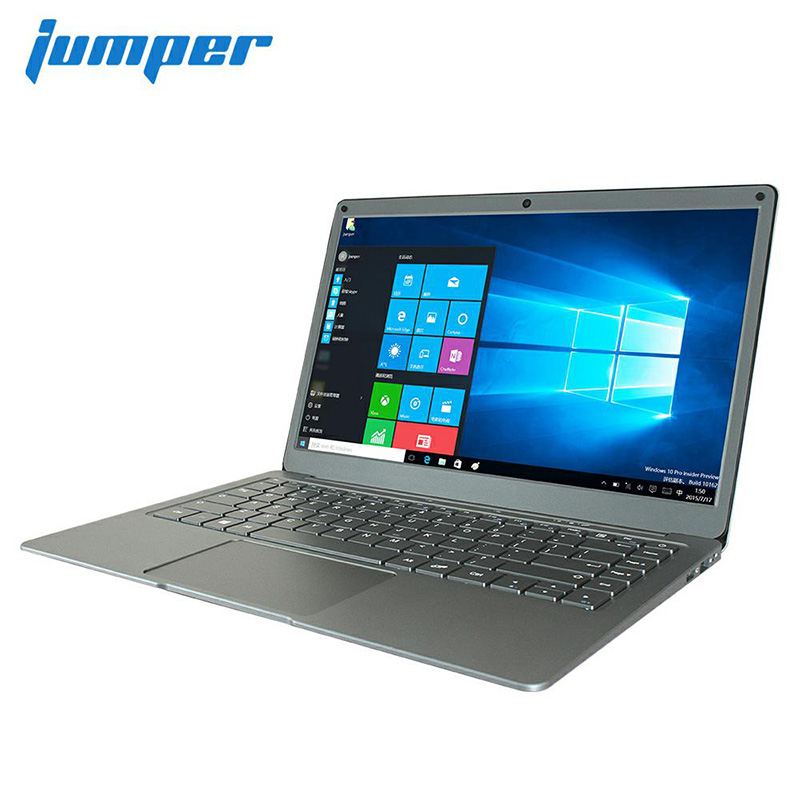 Jumper EZbook X3 notebook 13.3 inch IPS display laptop Intel Apollo Lake N3350 6GB 64GB eMMC 2.4G/5G WiFi with M.2 SATA SSD slot  Silver_European regulations
