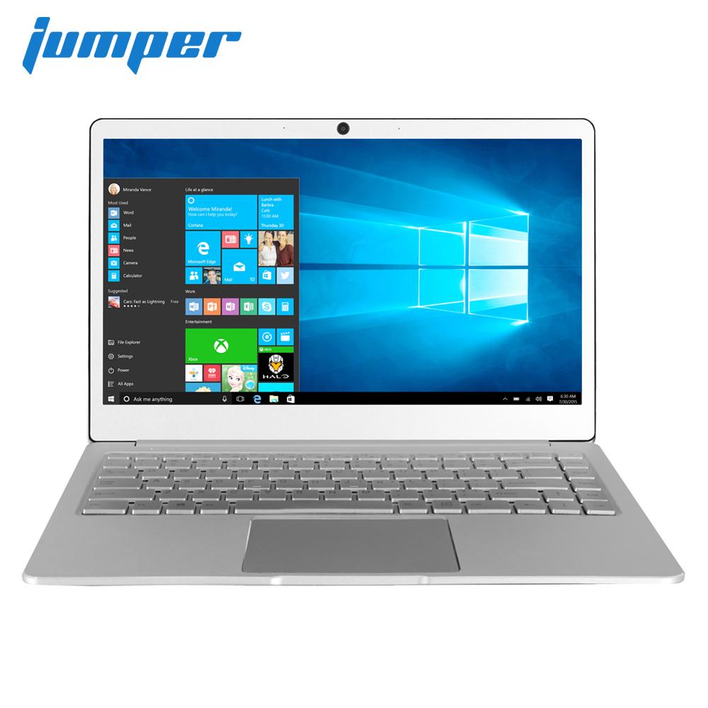 Original JUMPER EZbook X4 Laptop 14in IPS Metal Case notebook Intel Celeron J3455 6GB 128GB Backlit Keyboard 2.4G/5G Wifi Silver_European regulations