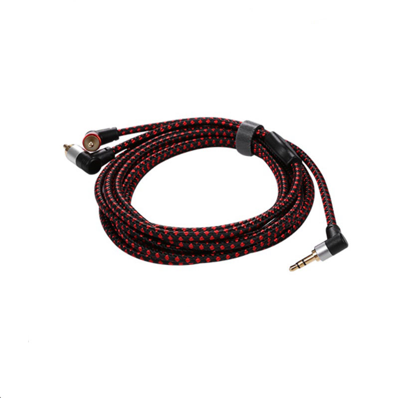2RCA to 3.5mm Male aux Cable 3.5 Jack RCA Audio Cables Headphone aux Jack Splitter For Iphone 1 meter