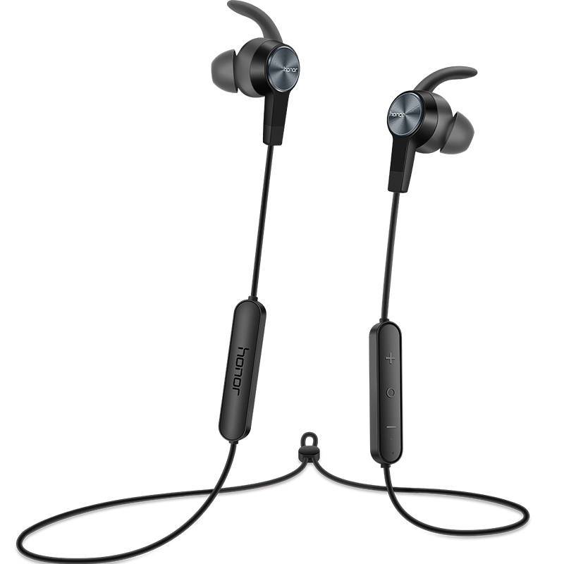 Huawei Honor xsport AM61 Earphone Bluetooth Wireless Connection with Mic In-Ear Style Headphone - Black