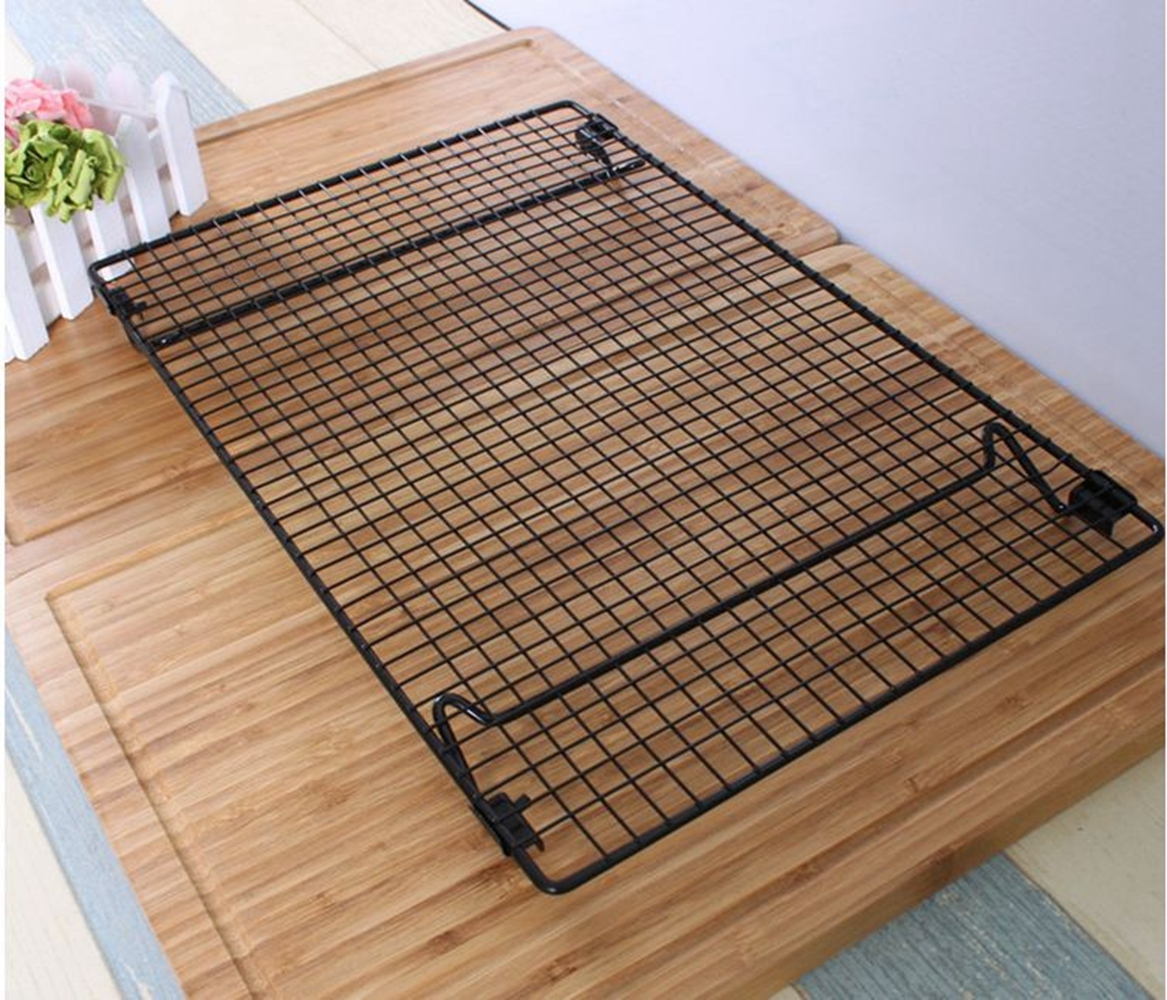 Cooling Frame Not Sticky No Rust Thickening Stainless Steel Frame for Cooling Cake Cookies 1pc