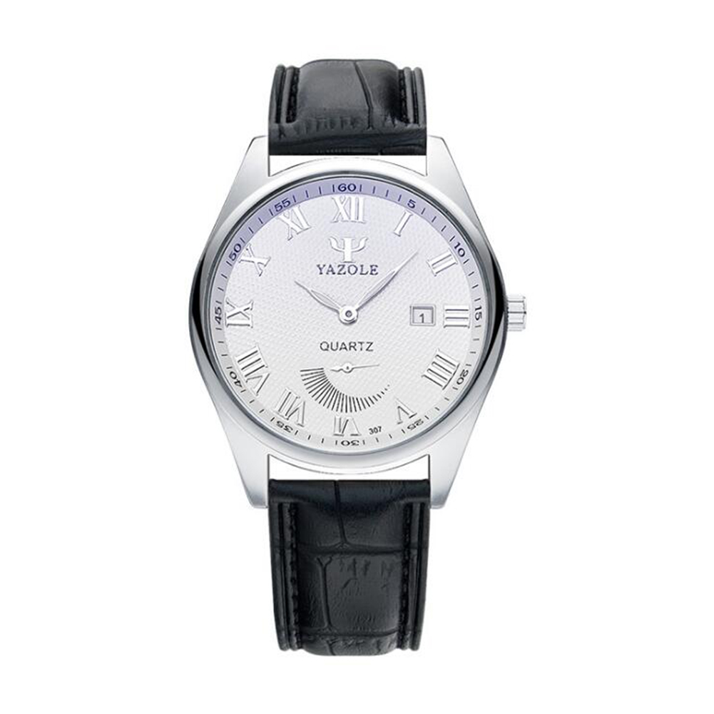 Fashion Business Style Small Pointer Luminous Calendar Lovers Watch
