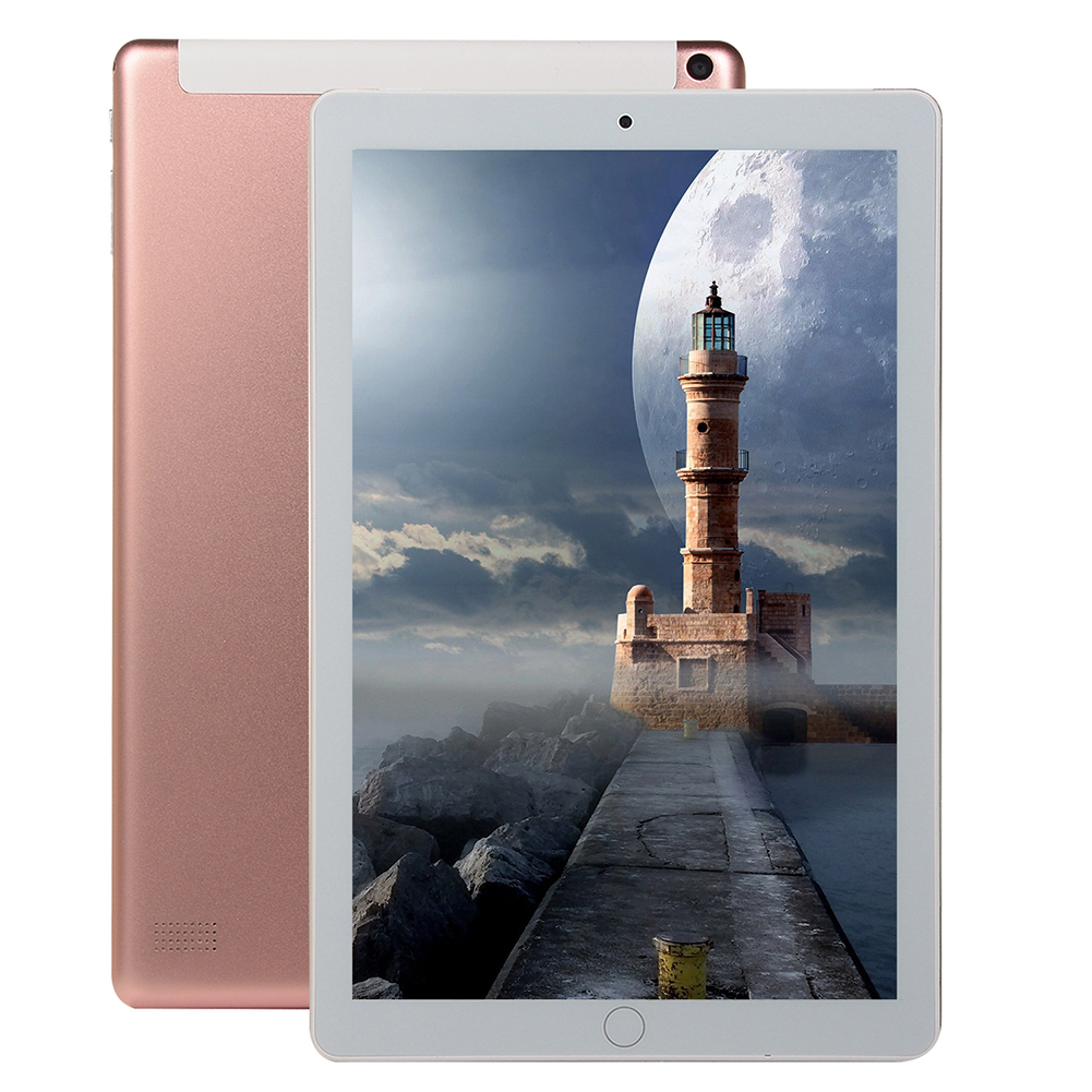 10 Inch Android Tablet 16GB  Hard Drive Capacity 3G Call Tablet Phone Tablet Gaming WiFi Bluetooth Pink_U.S. standard
