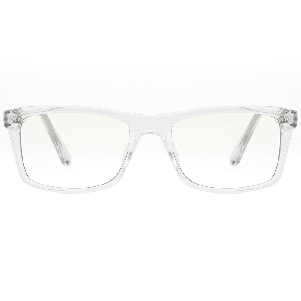 [US Direct] Cyxus Anti Blue Light Computer Glasses for Blocking UV Eye Strain Headache, Reading Eyewear (8065T01, Bright Black) Block Droplets Crystal_M