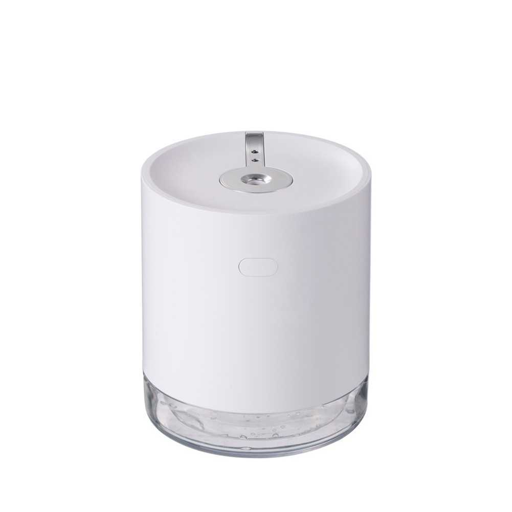 Induction Sprayer Air Humidifier Portable USB Charging Contact Free Mist Maker white