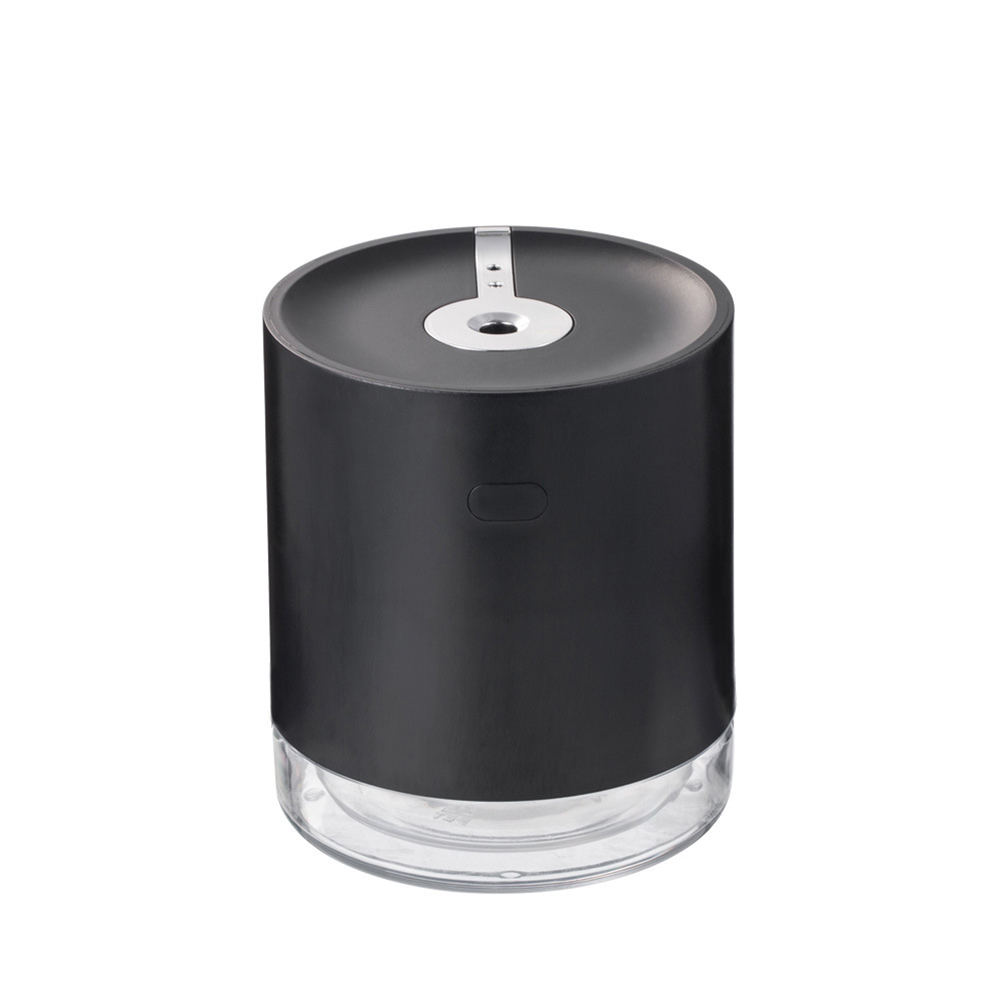 Induction Sprayer Air Humidifier Portable USB Charging Contact Free Mist Maker black