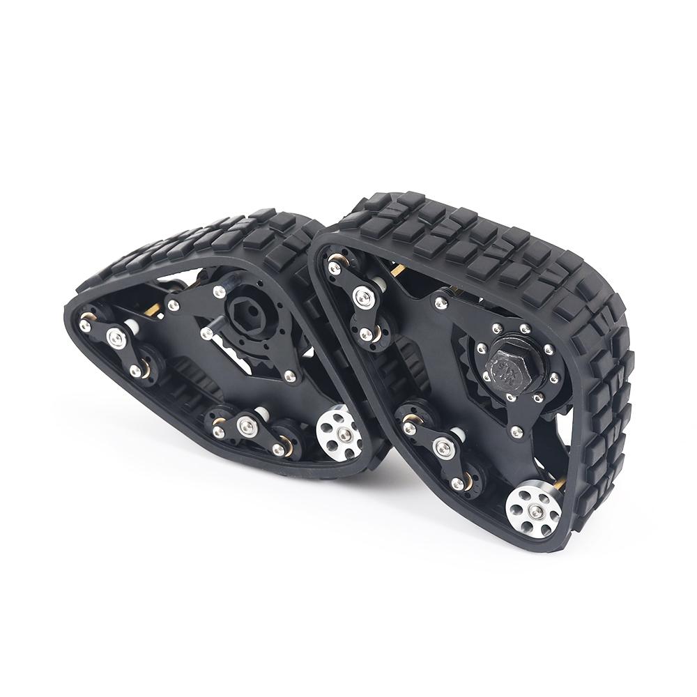 RC Tracks Wheel Sandmobile Conversion Snow Tire for 1/10 SCX10 D90 Car Remote Control Device Accessories 2pcs