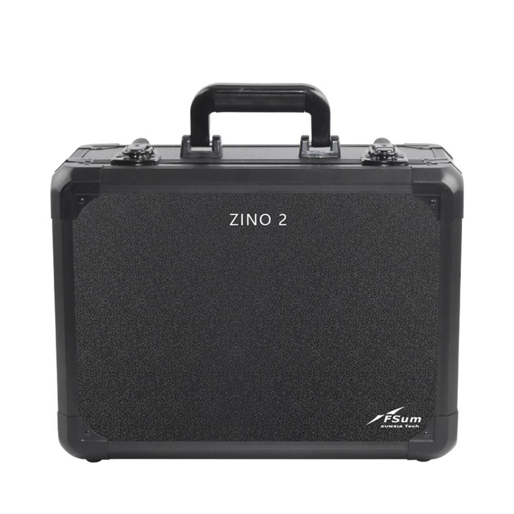 Carrying Case Waterproof Aluminum Hard Travel Protect Case for Hubsan ZINO 2  zino 2 black aluminum case