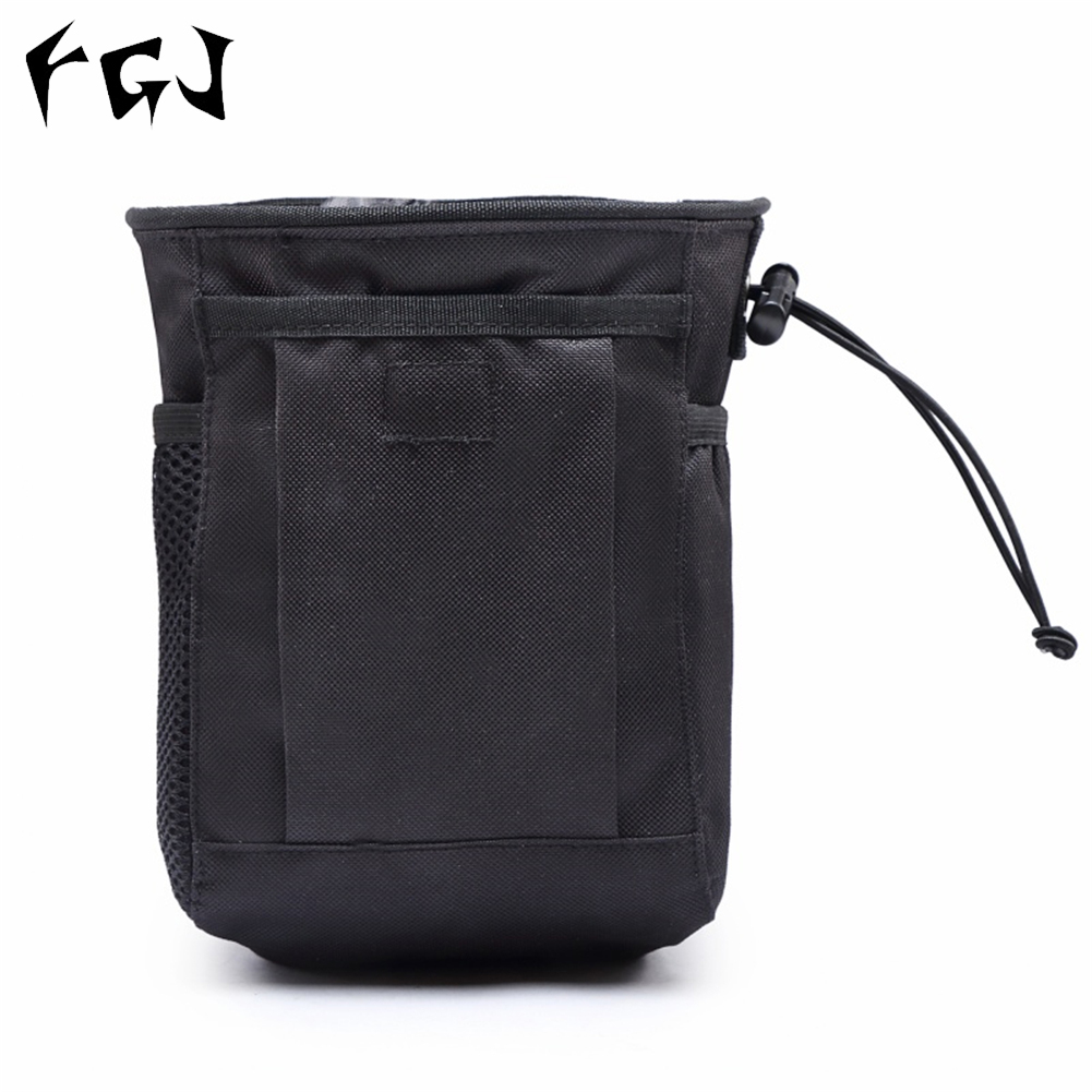 FGJ Molle Small Recycling Storage Bag Outdoor Multifunctional Package black_16cm*8cm*20cm