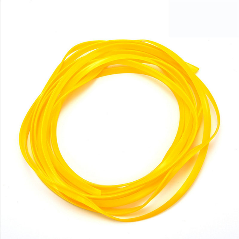 5M Car Styling Interior Decoration Strips Moulding Trim Dashboard Door Edge Universal for Cars Auto Accessories Yellow 5m