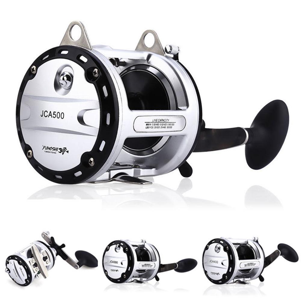 Right-handed Strong Metal 12+1BB Ball Bearings Drum Fishing Reel Bait Casting Wear-resisting Boat/Beach/Ocean Fishing Wheel Model 200